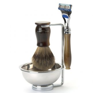 Edwin Jagger Chatsworth 4 Piece Shaving Set Fusion ProGlide