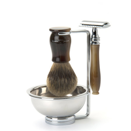 Edwin Jagger Chatsworth 4 Piece Shaving Set